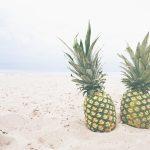 Ananas in kerriesaus tapas