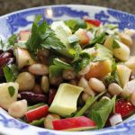 Spaanse bonensalade – Habas con chorizo