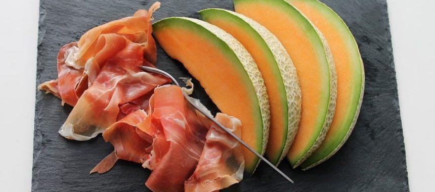 Serranoham met meloen – Jamon Serrano con Melon